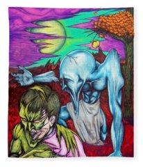 Growing Evils Fleece Blanket