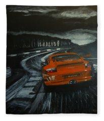 Gt3 @ Le Mans #2 Fleece Blanket
