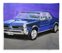 Gto 1965 Fleece Blanket
