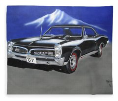 Gto 1967 Fleece Blanket