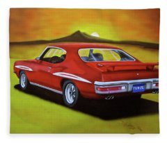 Gto 1971 Fleece Blanket