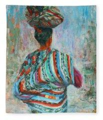 Guatemala Impression I Fleece Blanket