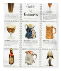 Guinness Guide To Guinness Fleece Blanket