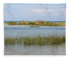 Gulf Coast Serenity Fleece Blanket
