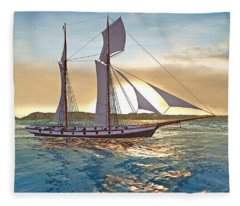 Gulf Of Mexico Area In The World Playground Scenery Project  Fleece Blanket