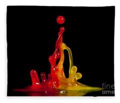 Gummy Drops Fleece Blanket