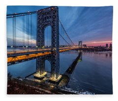 Gwb Sunrise Fleece Blanket