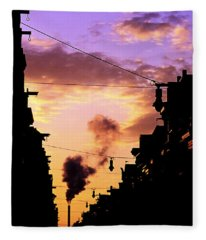 Haarlemmerstraat Fleece Blanket