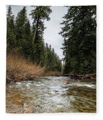 Hackleman Creek  Fleece Blanket