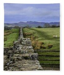 Hadrian's Wall Fleece Blanket