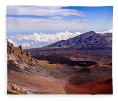 Haleakala Crater Fleece Blanket
