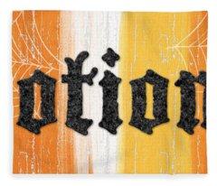 Halloween Potions Sign Fleece Blanket