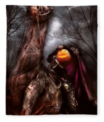Halloween - The Headless Horseman Fleece Blanket