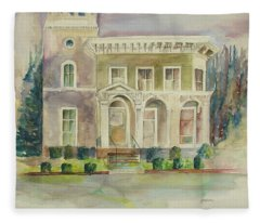 Hamden House Fleece Blanket