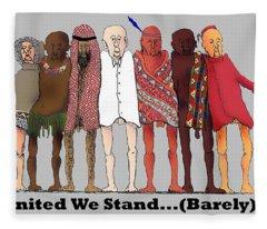 Nous Sommes Charlie Fleece Blanket