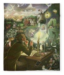Hans Christian Andersen Fleece Blanket