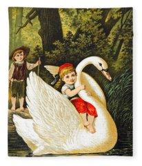 Hansel And Gretel Fleece Blanket