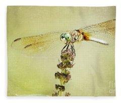 Happy Dragon Fleece Blanket