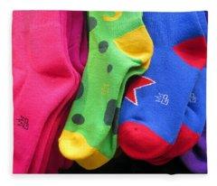 Wear Loud Socks Fleece Blanket