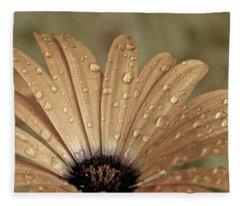 Happy To Be A Raindrop Fleece Blanket