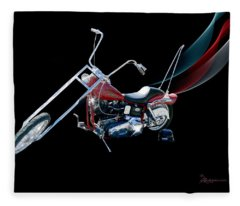 Harley Fleece Blanket