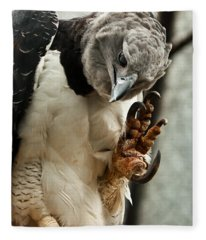 Harpy Eagle Fleece Blanket