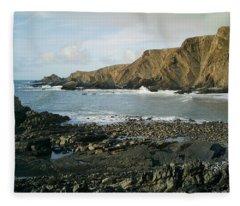 North Devon - Hartland Quay Fleece Blanket