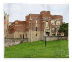 Harvard Elementary School 0690 Fleece Blanket