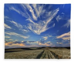 Harvest Sky Fleece Blanket