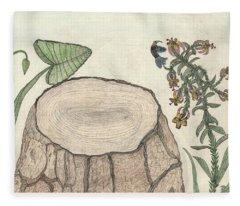 Harvested Beauty Fleece Blanket