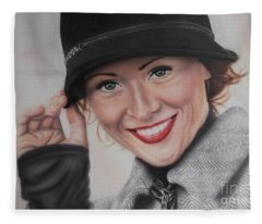 Hat Fleece Blanket