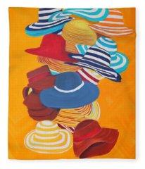 Hats Off Fleece Blanket