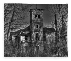 Haunted House Fleece Blanket