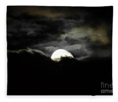 Haunting Horizon Fleece Blanket