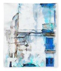 Havana Street Fleece Blanket