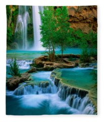 Havasu Canyon Fleece Blanket