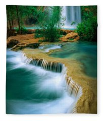 Havasu Travertine Fleece Blanket