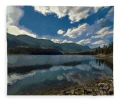 Haviland Lake Fleece Blanket