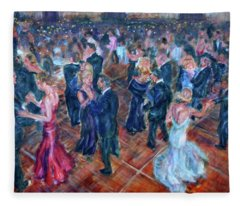 Having A Ball - Dancers Fleece Blanket