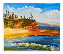 Headlands Fleece Blanket