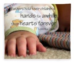 Hearts Forever 21203 Fleece Blanket