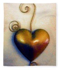 Heartswirls Fleece Blanket