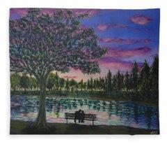 Heartwell Park Fleece Blanket