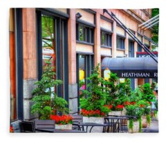Heathman Restaurant 17368 Fleece Blanket