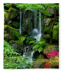 Heavenly Falls Serenity Fleece Blanket