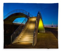 Heavenly Stairs Fleece Blanket