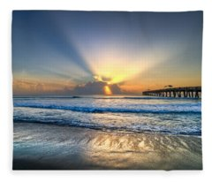 Heaven's Door Fleece Blanket