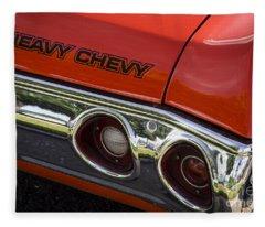 Heavy Chevy Fleece Blanket