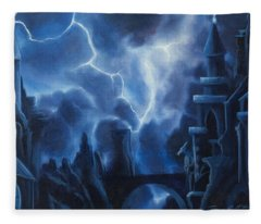 Heisenburg's Castle Fleece Blanket