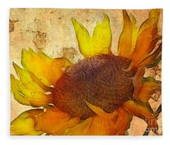 Helianthus Fleece Blanket